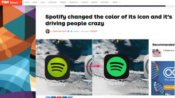 Spotify muutti kuvakkeensa väriä – käyttäjät pöyristyivät