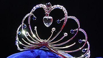 Miss Suomen uusi kruunu. Kuva: MTV3.