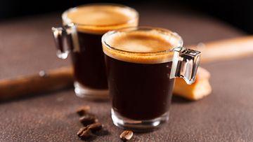 kahvi, shotti