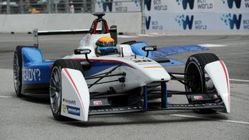 Andretti-talli, Formula E, Matthew Brabham