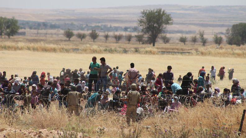 Irakin pakolaisia
