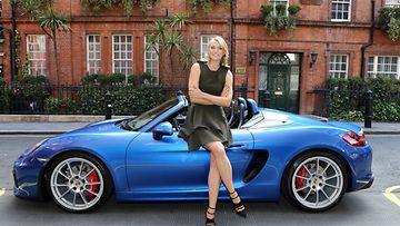 Porsche Boxster Spyder on varustettu jarruilla, jotka on tuotu siihen 911 Carrerasta.