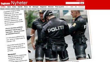 Kuvakaappaus dagbladet.nosta