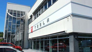 Teslaa ennen näissä tiloissa myytiin muun muassa Mazdaa ja Jaguaria.