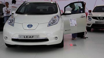 Nissan Leaf sähköauto 1