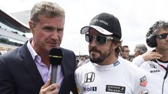 David Coulthard, Fernando Alonso, 2015