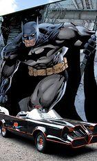 Bädä-bädä-bädä-bädä Batman ajoi Batmobilella jo 1960-luvulla, ja tämä malli on se ainoa oikea.