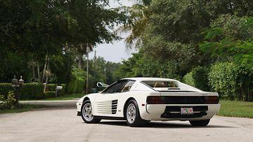 Miami Vicessa suuressa roolissa ollut vuoden 1986 Ferrari Testarossa on myynnissä.