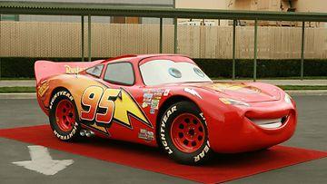Salama McQueen on animaatioelokuvien legendaarisimpia autoja.
