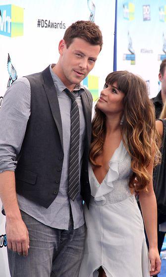 Lea Michele ja Cory Monteith 2012