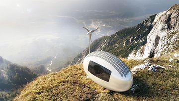 Ecocapsule-omavarainen miniasunto