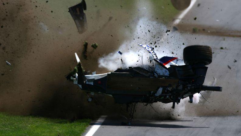 Robert Kubica, 2007, Kanada, onnettomuus, kolari (1)