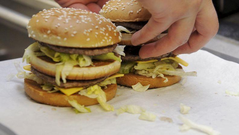 Big Mac -hampurilainen mcdonald's mcdonalds hampurilainen