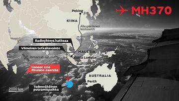 MH370 lento