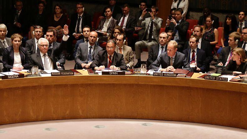 Vitali Tshurkin, Venäjän YK-lähettiläs, MH17, YK:n turvallisuusneuvosto