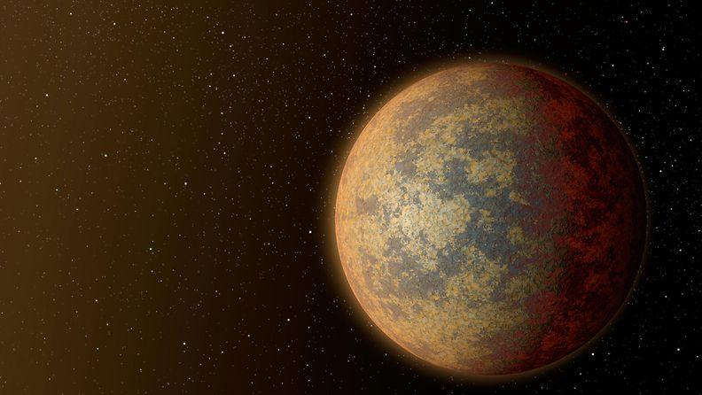 Taiteilijan näkemys HD 219134b -planeetasta