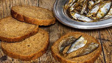 Ruisleipä, kala