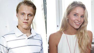 Mikael Granlund ja Emmi Kainulainen.