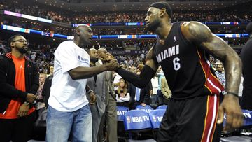Michael Jordan LeBron James