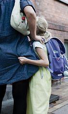Lasta pelottaa mennä kouluun