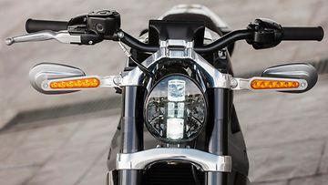 Project Livewire -pyörät ovat varustettu led-valoin.