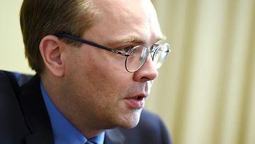 Jussi Niinistö elokuussa 2015