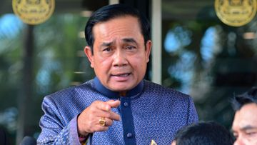 Thaimaan sotilasjuntan johtaja Prayat Chan-O-Cha.