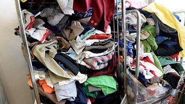 Tekstiilien kierrätystä