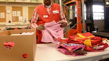 Tekstiilien kierrätystä (1)