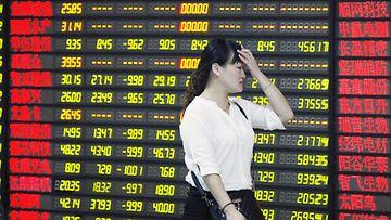 Kiinan pörssi