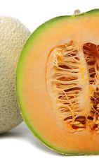 Cantaloupe sisältä. Copyright: Shutterstock.