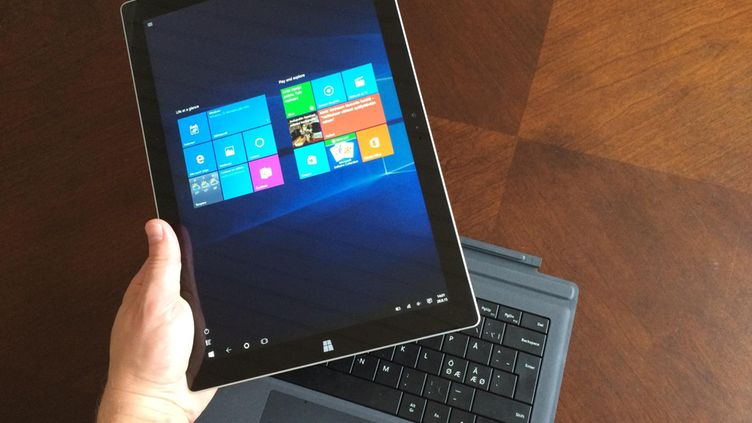 Microsoft Surface Pro 3 -tietokone, Windows 10