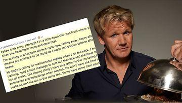 Gordon Ramsay kirje