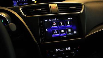 Hondan mediahallintajärjestelmän käyttökokemuksesta on vastannut suomalaisfirma Ixonos.