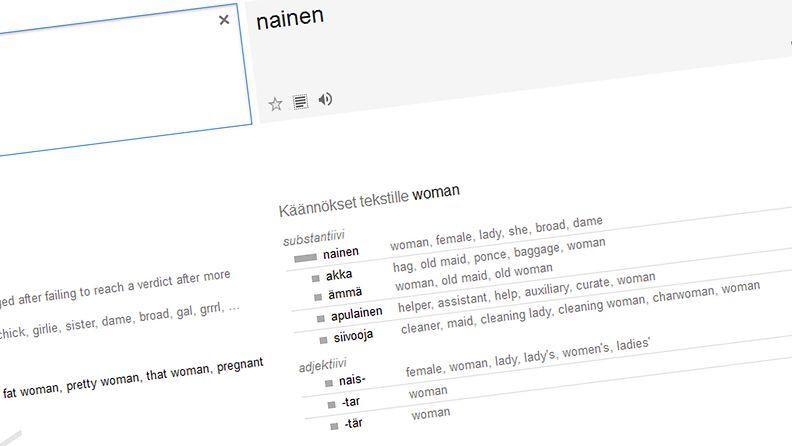 käännös, google