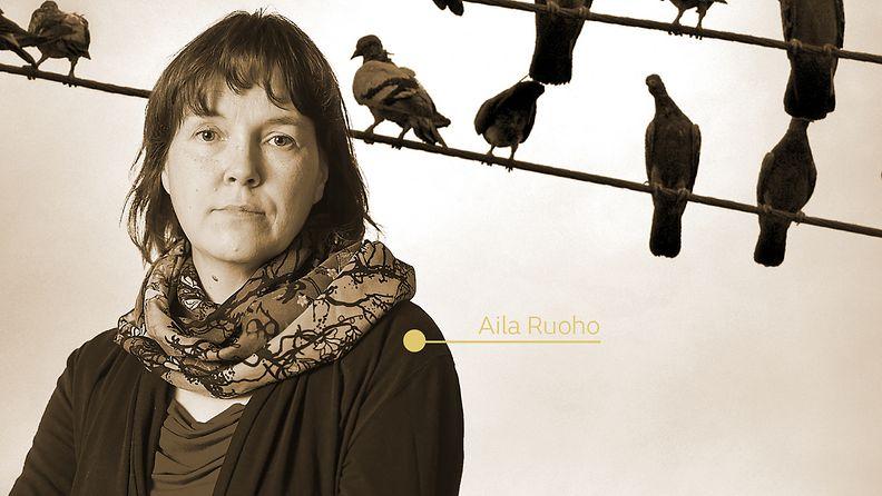 Vartiotornin varjossa kirjailija Aila Ruoho