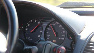 Honda NSX:n mittaristo.