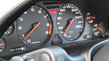 Honda NSX:n mittaristoa.