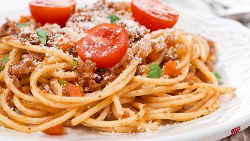 spagetti, bolognese
