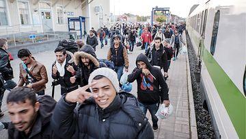 pakolaisia Kemissä