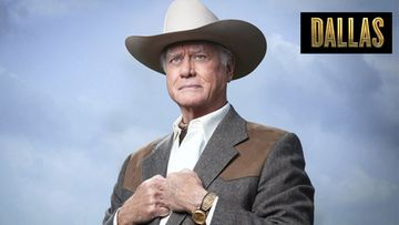 Dallasin J.R. Ewing (Larry Hagman).