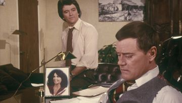 Dallas – Bobby (Patrick Duffy) ja J.R. (Larry Hagman)