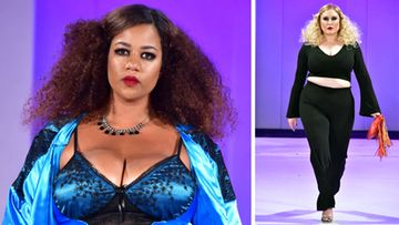 Plus Size Fashion Week Catwalk Show