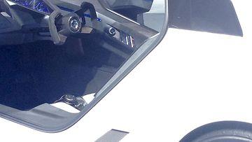 Golf GTE -konseptin ohjaamossa on futuristinen tunnelma.