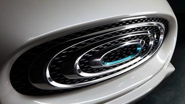 Thunder Power Sedan - Front detail