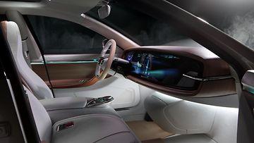 Thunder Power Sedan - Interior