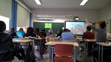 Valmistava opetus - luokka Hämeenlinnassa Lyseon koulussa