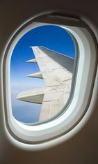 lentokone, ikkuna, siipi