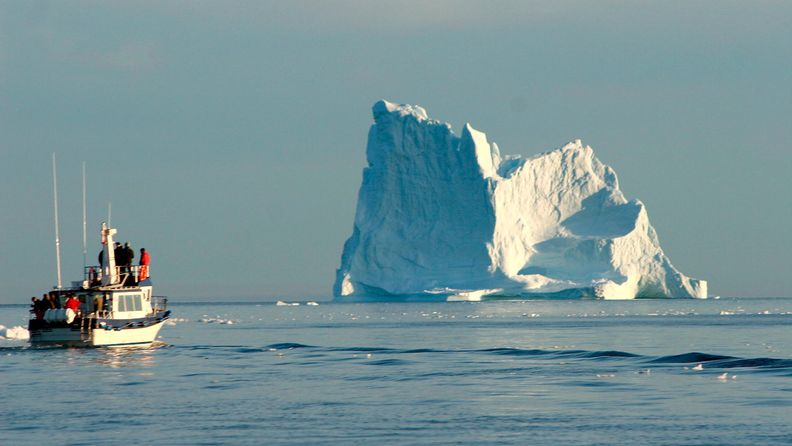 Grönlanti, ilmastonmuutos, turismi