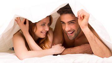 seksi, pariskunta, sänky